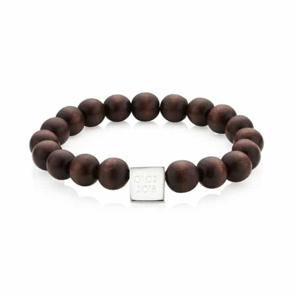 Mens-Wooden-Bead-Braclet