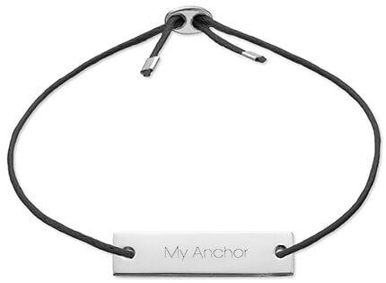man personalised bracelet