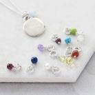 girls silver pendant