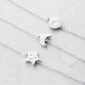 Sun Moon stars bracelet