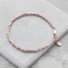 Rose Gold Silver Bracelet