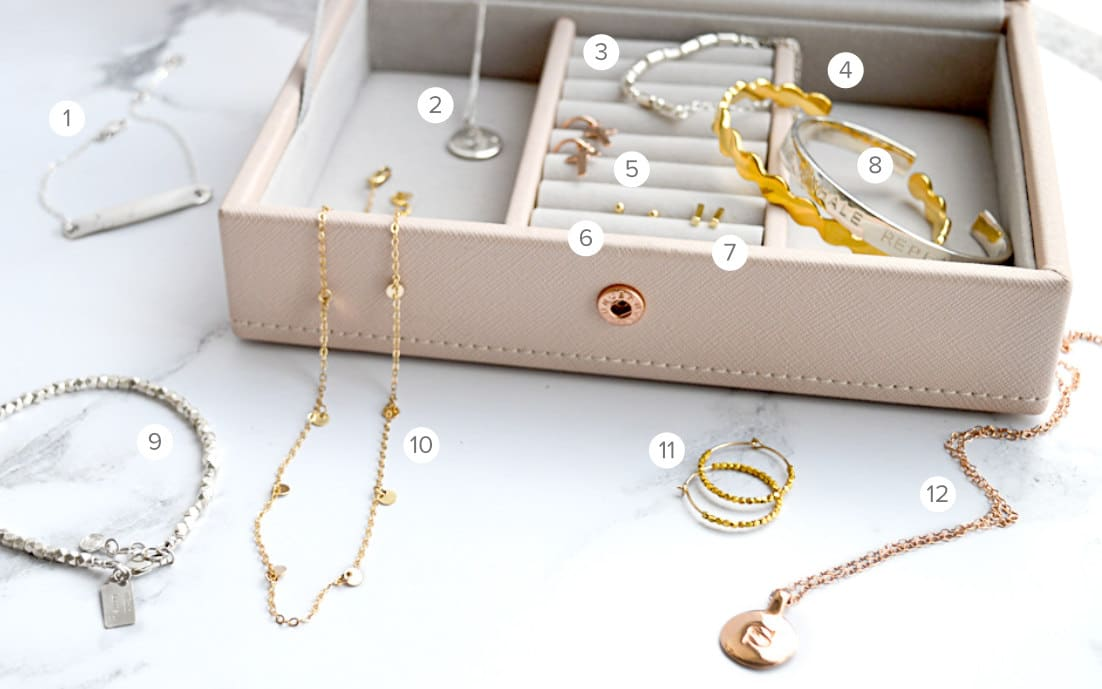 Jewellery box essentials