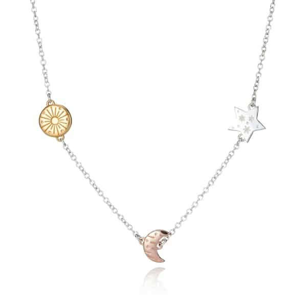 My Sun, Moon And Stars Celestial Necklace
