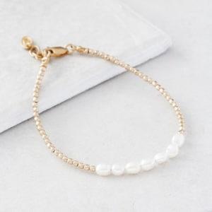 June Gold Birthstone Bracelet