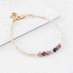 October Gold Birthstone Bracelet