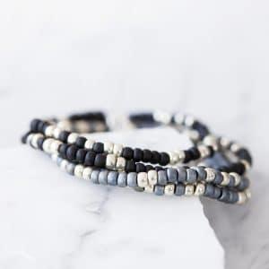 Personalised morse bracelet