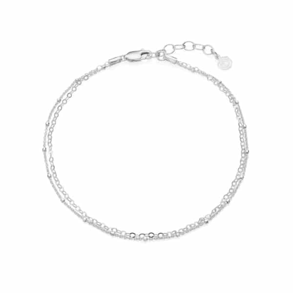 Double Strand Bobble Anklet