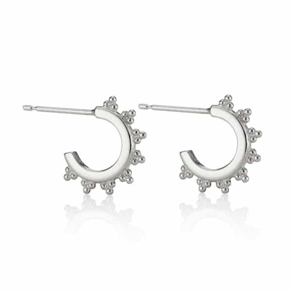 Sterling-Silver-Midi-Signature-Logo-Hoop-Earrings