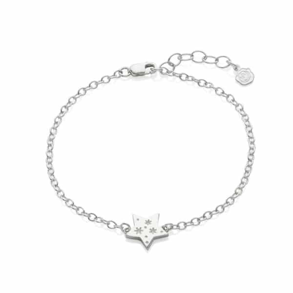 All my stars silver bracelet