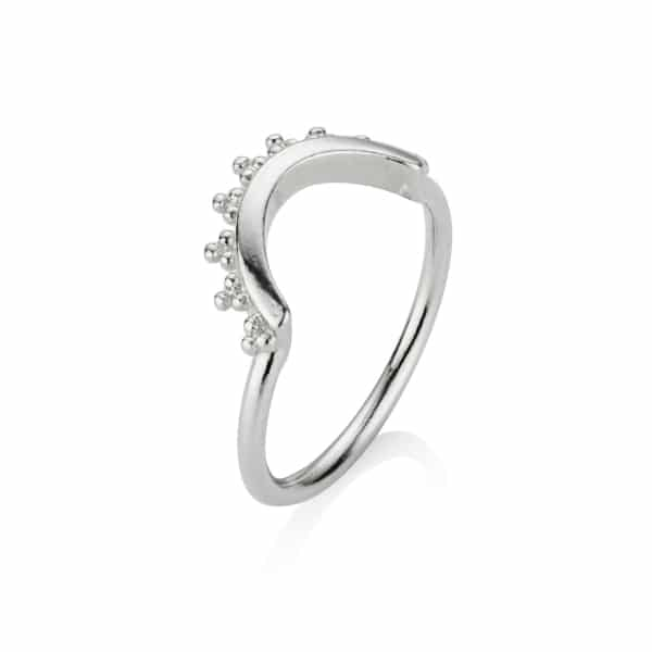 Silver Cresent Ring