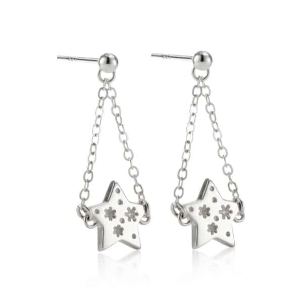 All my stars drop earrings
