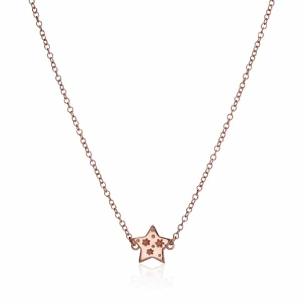 All my Stars Rose Gold Necklace