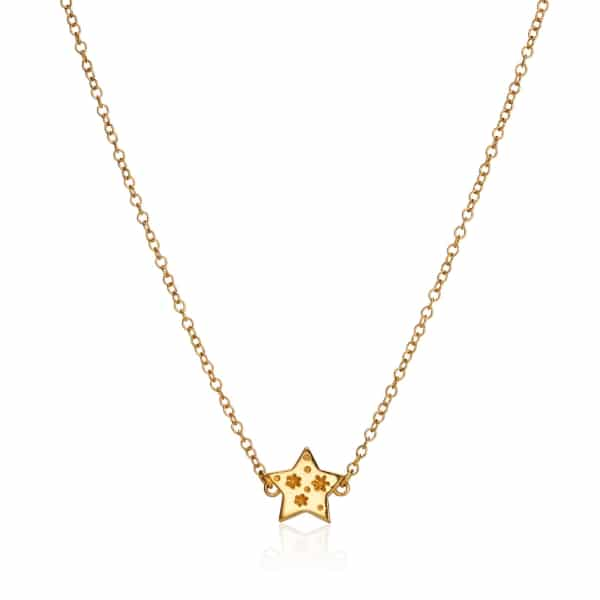 All my Stars Yellow Gold Necklace
