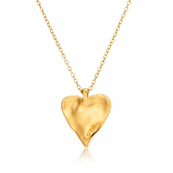 Maxi Heart Necklace_Gold