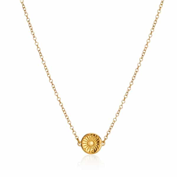 My Sunshine Yellow Gold Necklace