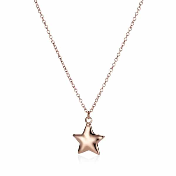 Rose Gold Star Charm Necklace_1