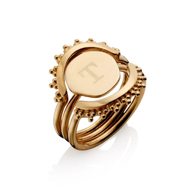 Gold Stacker Ring