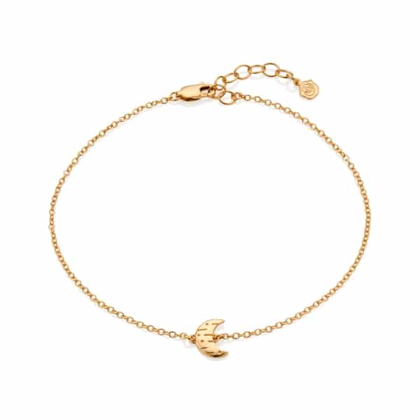 Moon Anklet_Gold