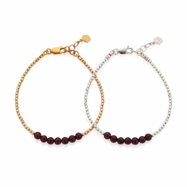 January Birhtstone Bracelets