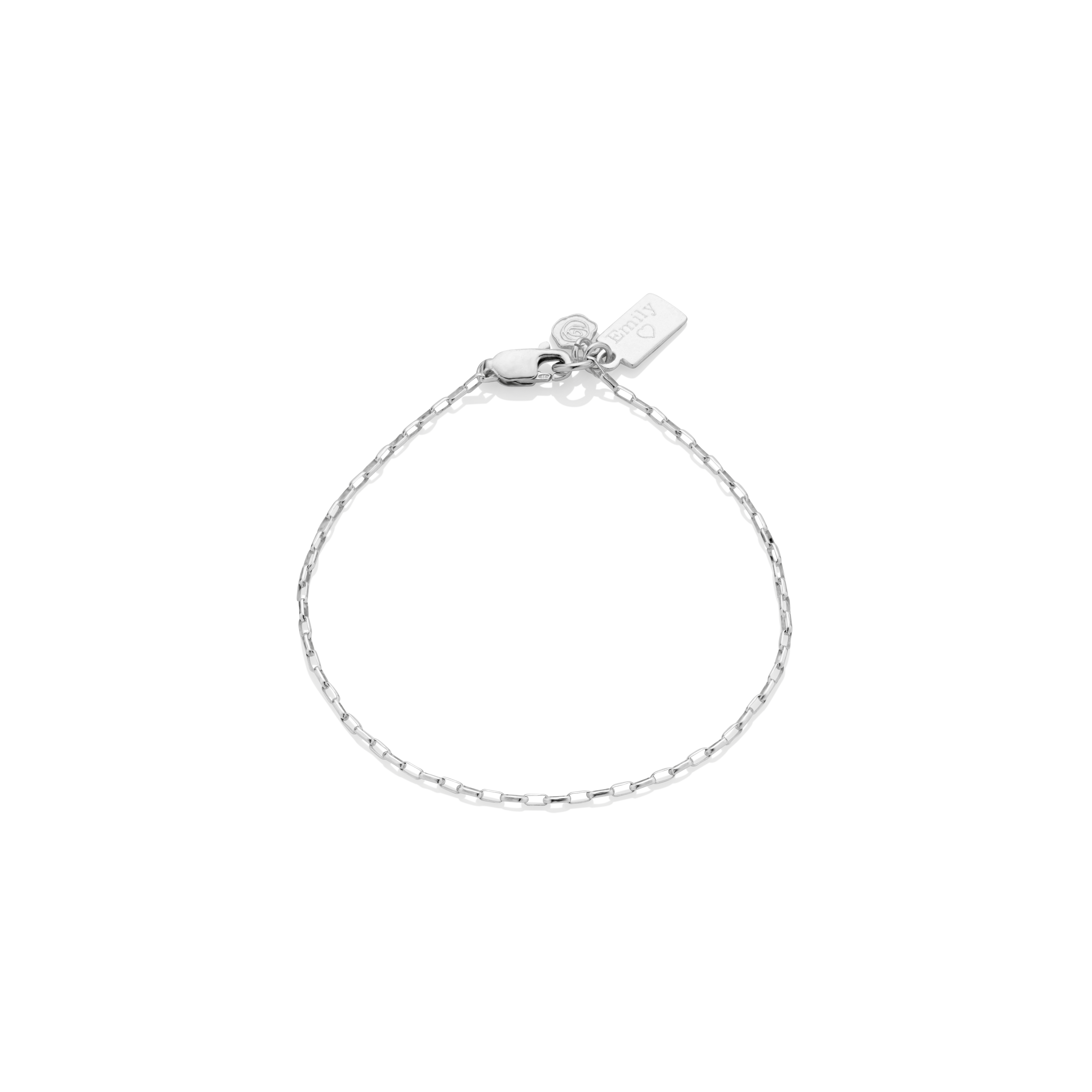 Tiny Tag Anklet