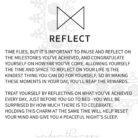 GLYPHS card REFLECT