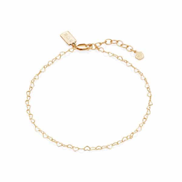 editedheart bracelet
