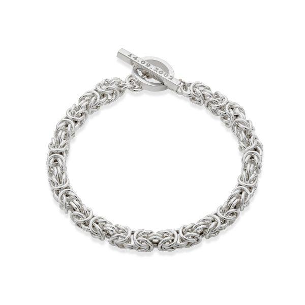 Prince George T-Bar Bracelet