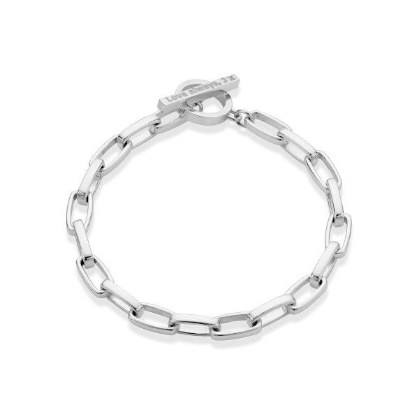 Long Link T-Bar Bracelet