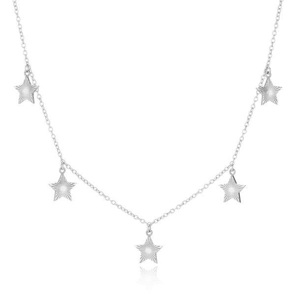 Multi Star Necklace-
