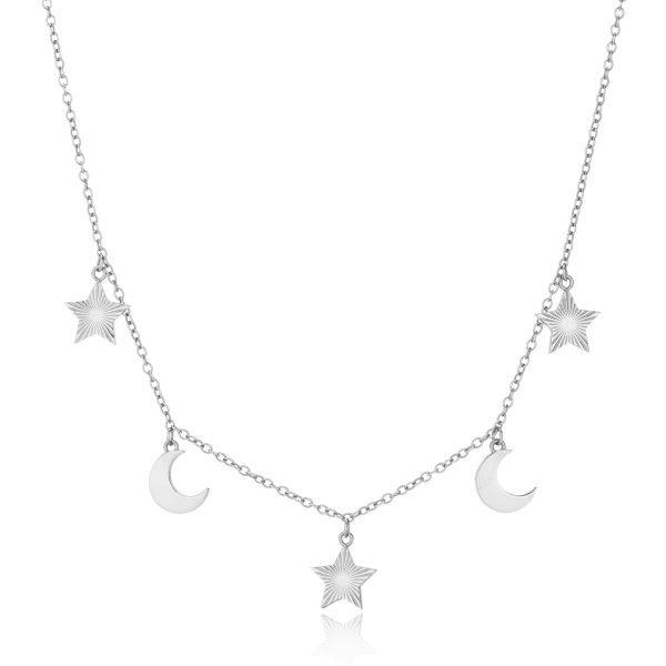 Stars and Moon Necklace-